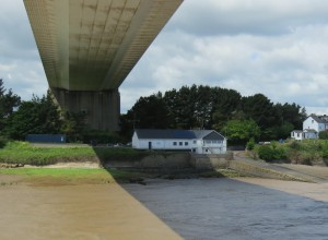 Beachley Station from River