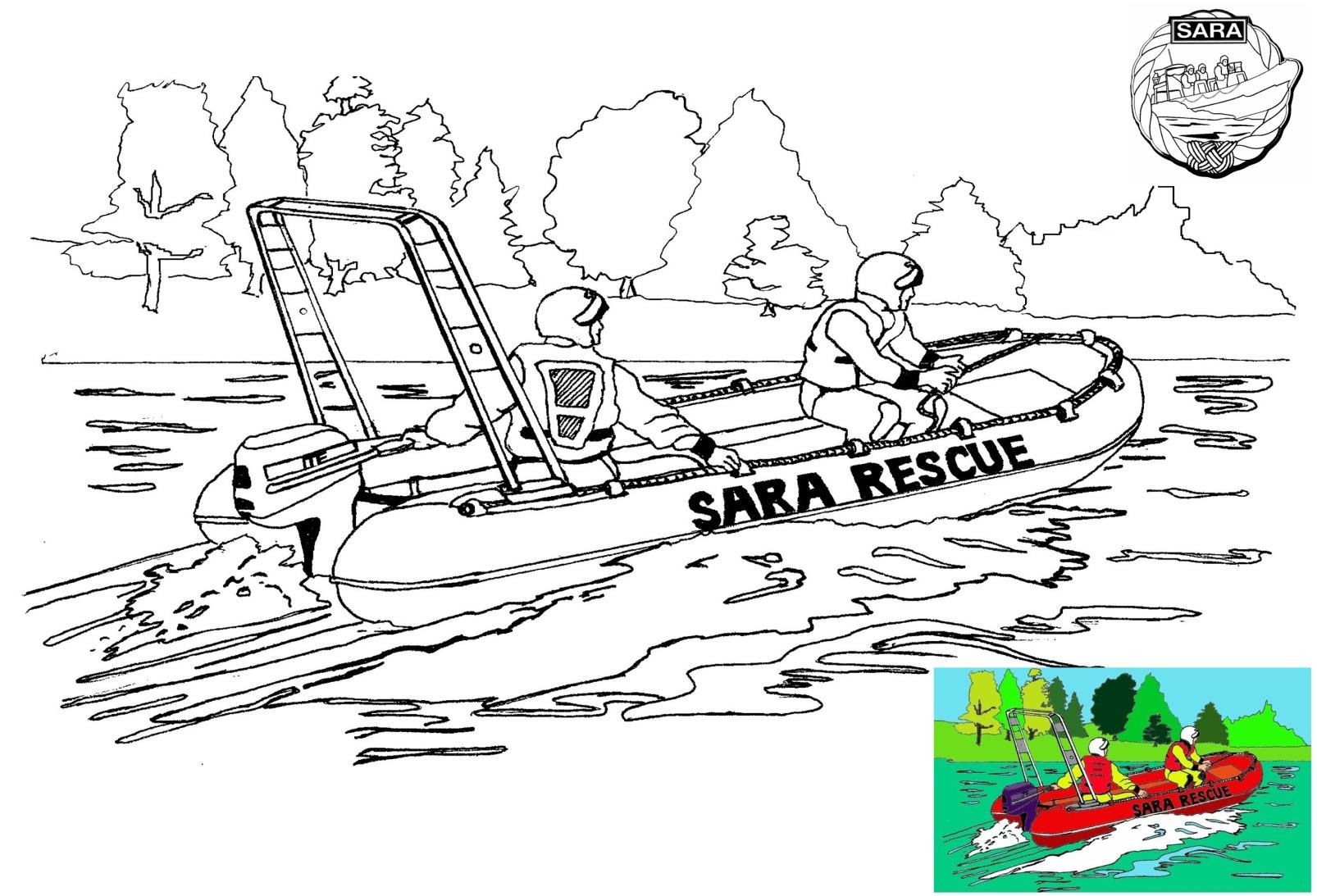 SARA Rescue Boat 19