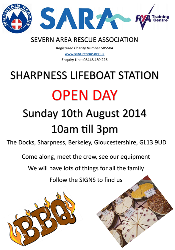 Sharpness Open Day 2014