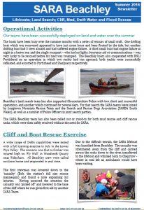 sara newsletter summer 16